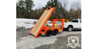 500$ - Reservation - Multi 4 in 1 Trailer - 6'X12' - Gooseneck Hitch